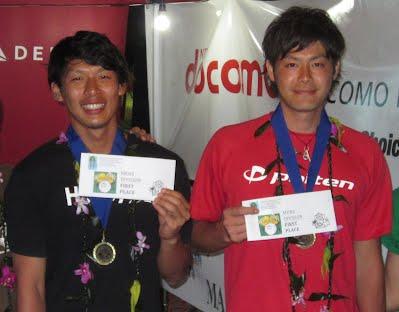 2012 MEN'S DIVISION WINNERS